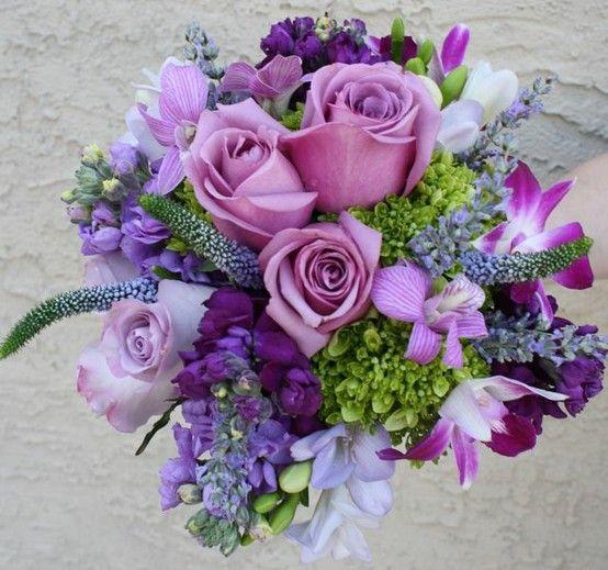 Lila Hochzeit - Blumensträuße In Lila #2106037 - Weddbook