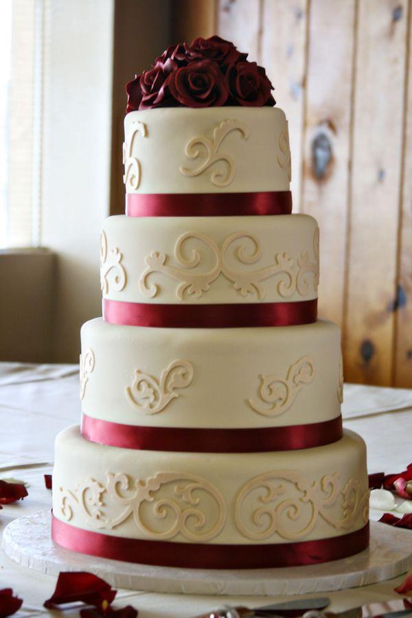 Hochzeit - Cherry Red / Burgund Hochzeit