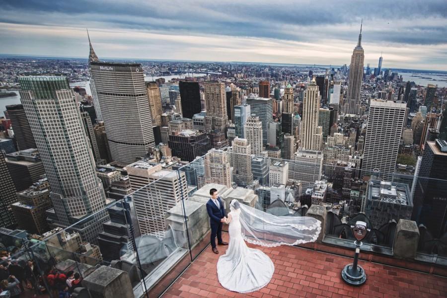 Hochzeit - [Hochzeits-] New York, New York