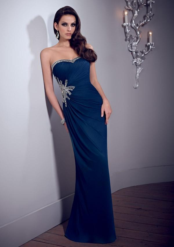 Wedding - Stretch Mesh Mother Of The Bride Dresses(HM0711)