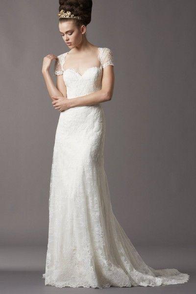 Boda - Los amantes de encaje vestido de novia de inspiración