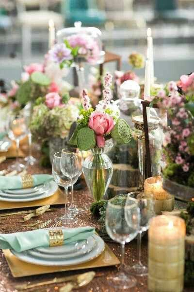 Mariage - Jardin tablescapes