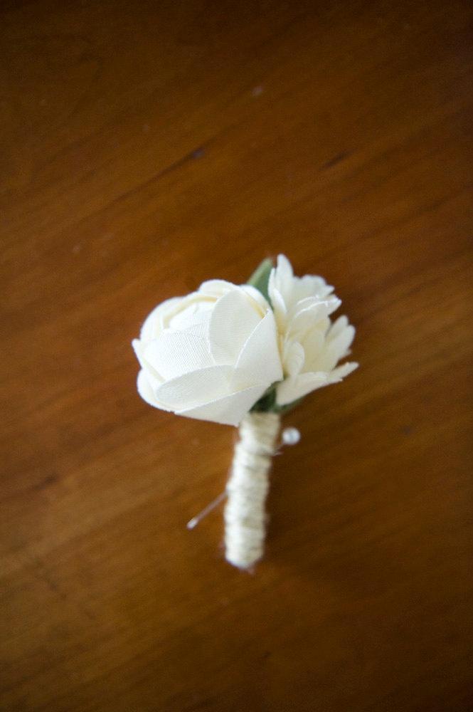 Свадьба - бутоньерка