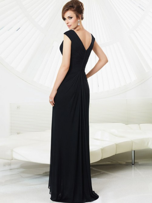 Hochzeit - Women Black Sexy Evening Dresses