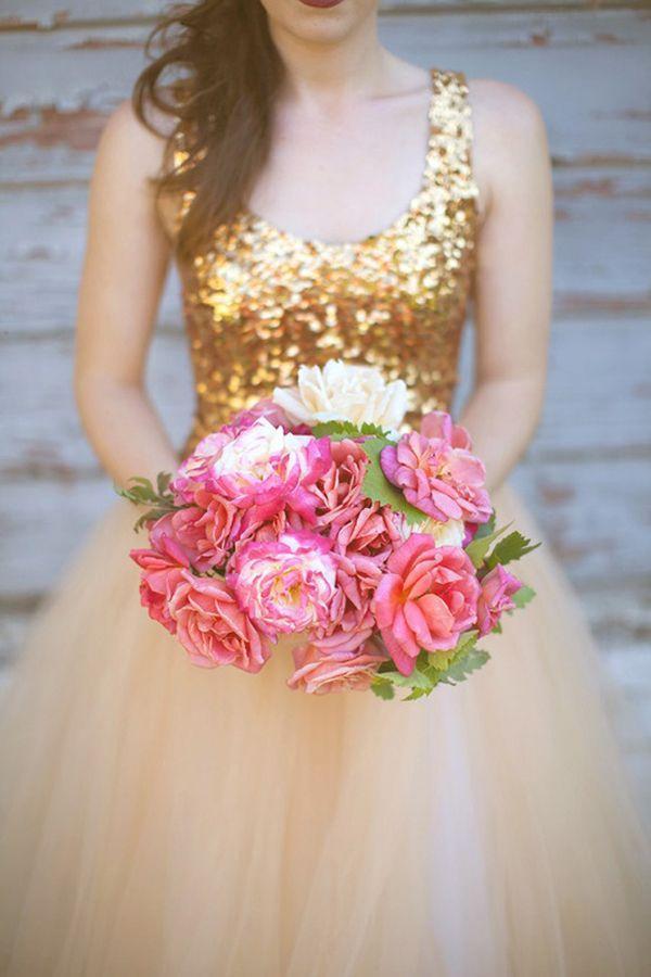 زفاف - الذهب الإلهام الزفاف