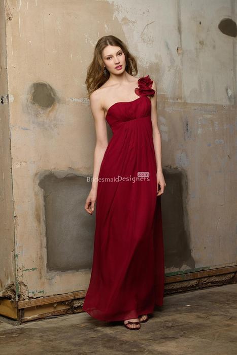 Свадьба - Discount Red Bridesmaid Dresses 2014