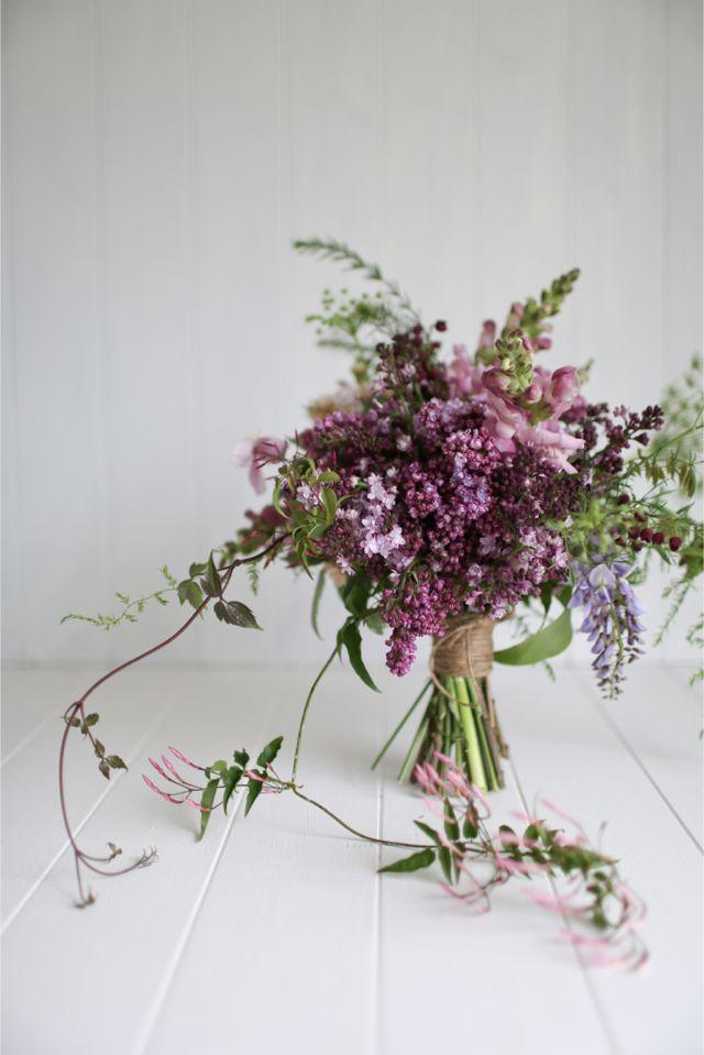Mariage - Bouquets en violet