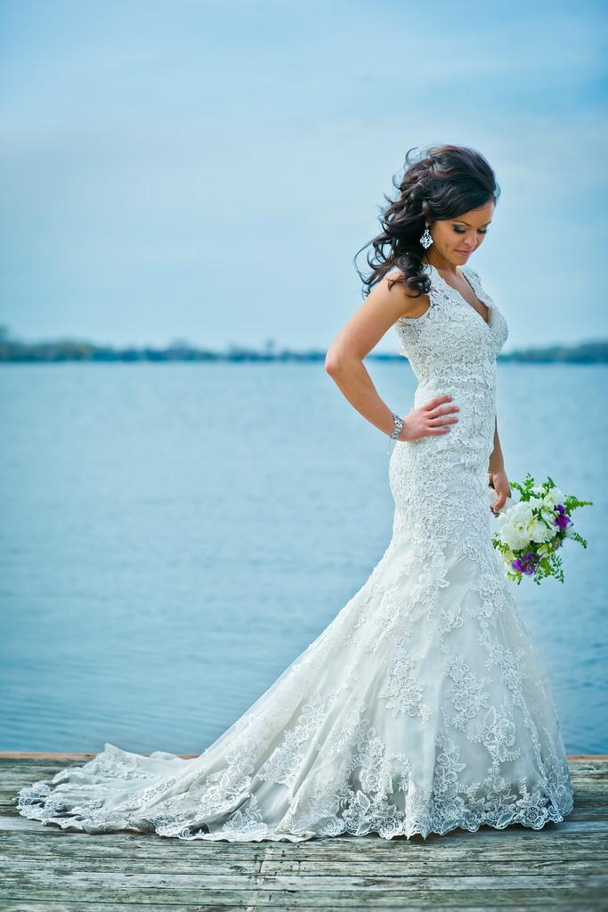 Wedding - On The Dock - Lake Minnetonka