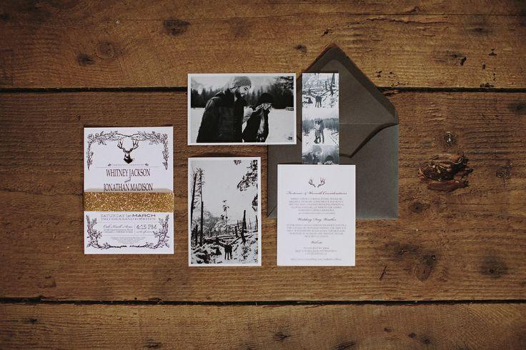 Hochzeit - Hochzeit lädt Papierwaren