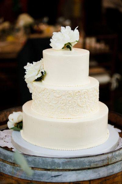 Un gâteau de mariage tout blanc, oui ou non ? 1