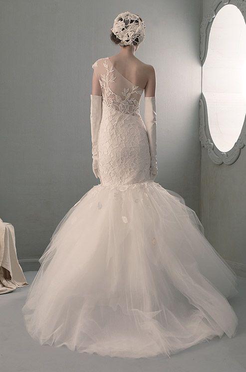 One shoulder strap wedding dress inspiration 2111444 for Wedding dresses one strap