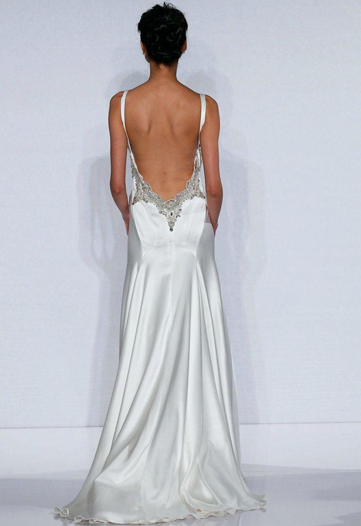Robes Backless - Robes De Mariée Dos Nu #2111986 - Weddbook