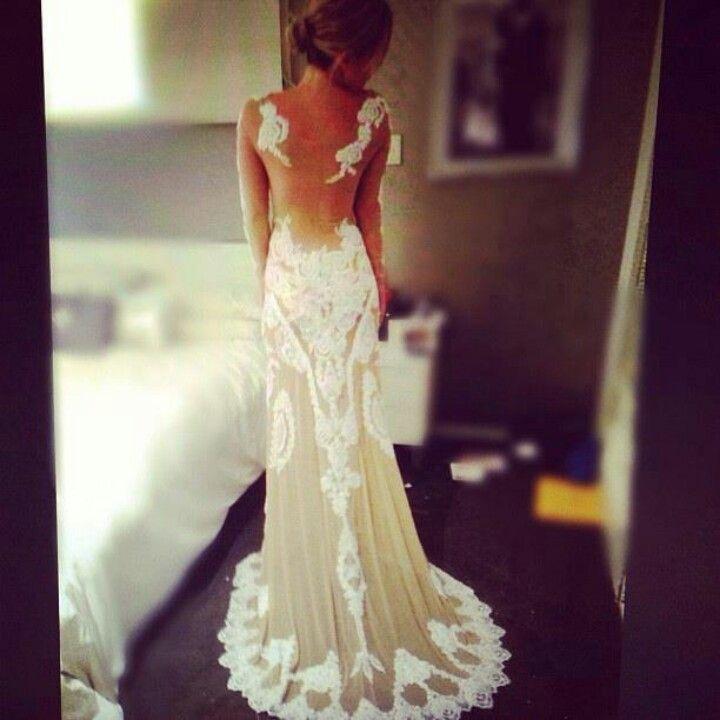 Boda - Vestidos Backless de la boda