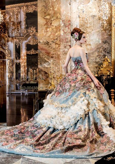 Wedding - Baroque/Rococo - 17th/18th Century/Marie Antoinette Wedding Inspiration