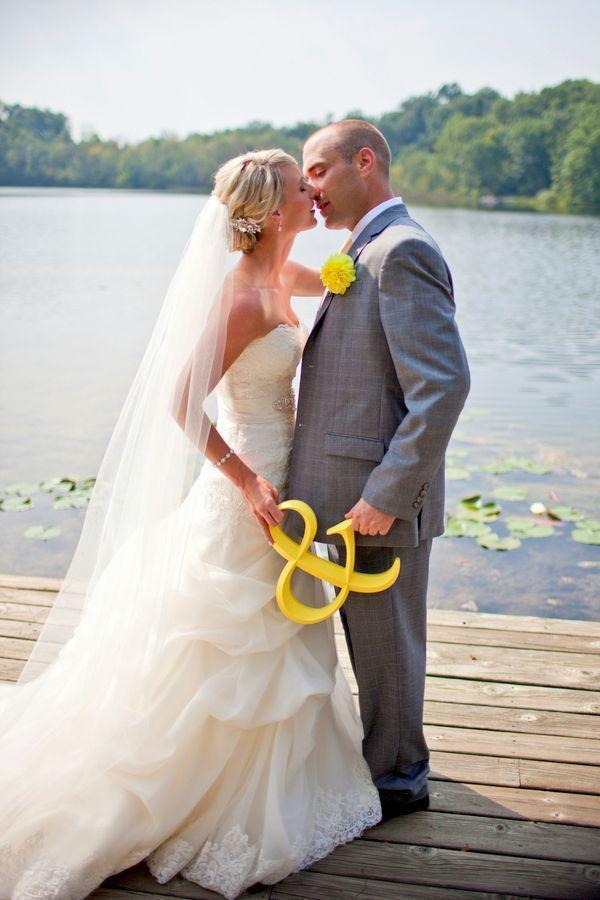Gelbe Hochzeits- - Gelb / Grau Hochzeiten #2112422 - Weddbook