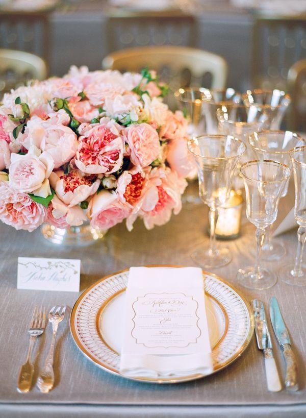 50s Wedding 1950 S Inspired Pink And Gold Weddings 2112500 Weddbook