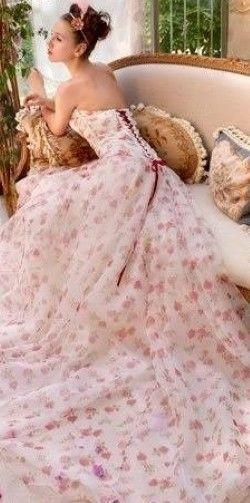 Wedding - Gowns.....Pastel Pinks
