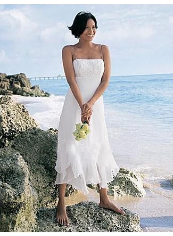 Linen wedding dresses summer