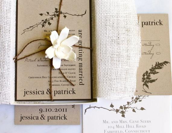Wedding - Paper, Invitations, Save-the-Dates, Menu Cards Etc!