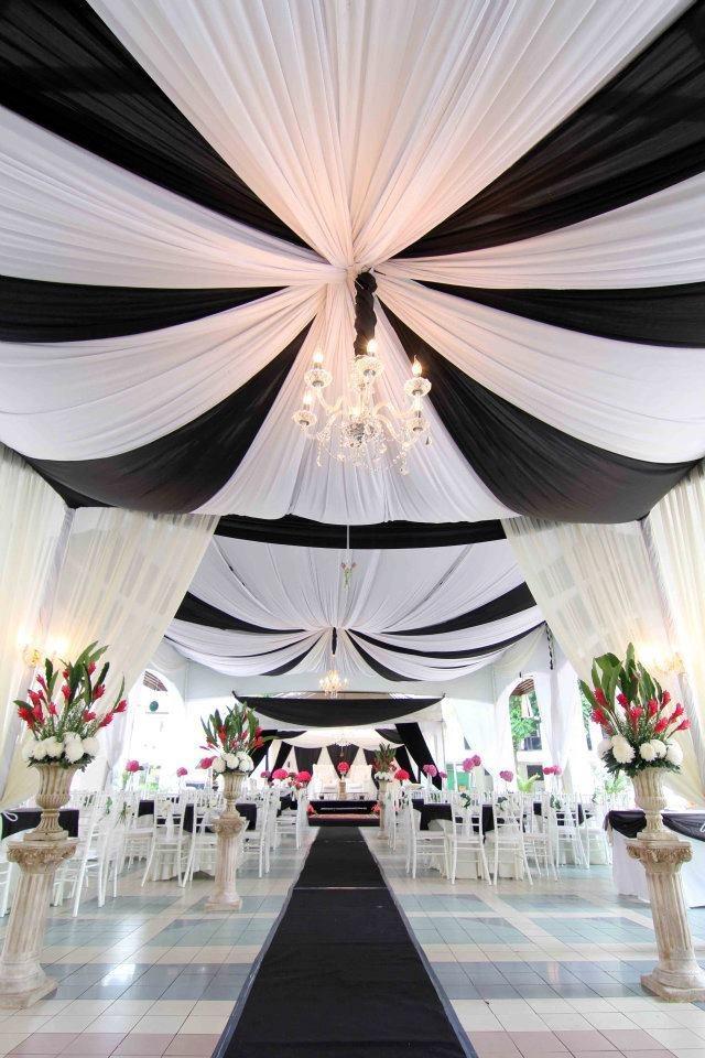 Свадьба - Классический Черный/Белый Свадебный