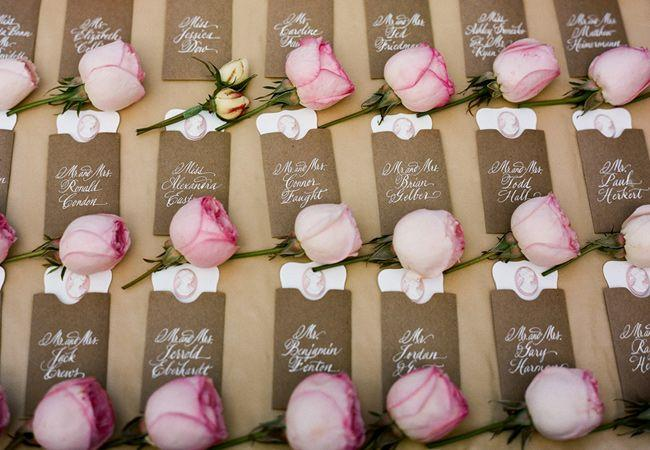 Wedding Escort Card - Wedding Escort/Place Card Table Ideas ...