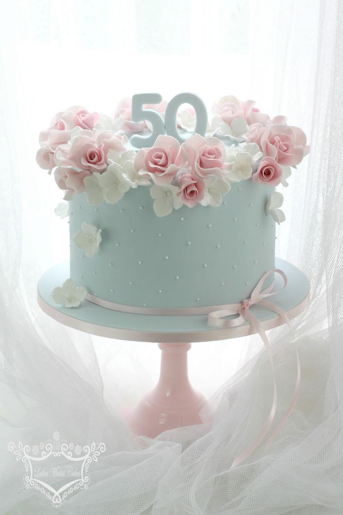 Wedding Cakes 50th Birthday Cake 2115916 Weddbook
