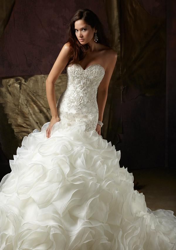 Wanweier Wedding Dresses And Prices Cheap Diamante Beaded Net And
