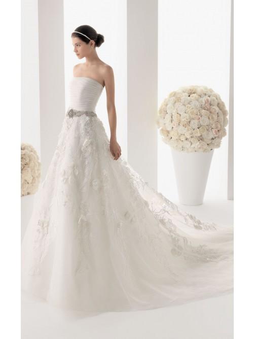 bretelles plancher longueur robe de mariage france missy dress france ...