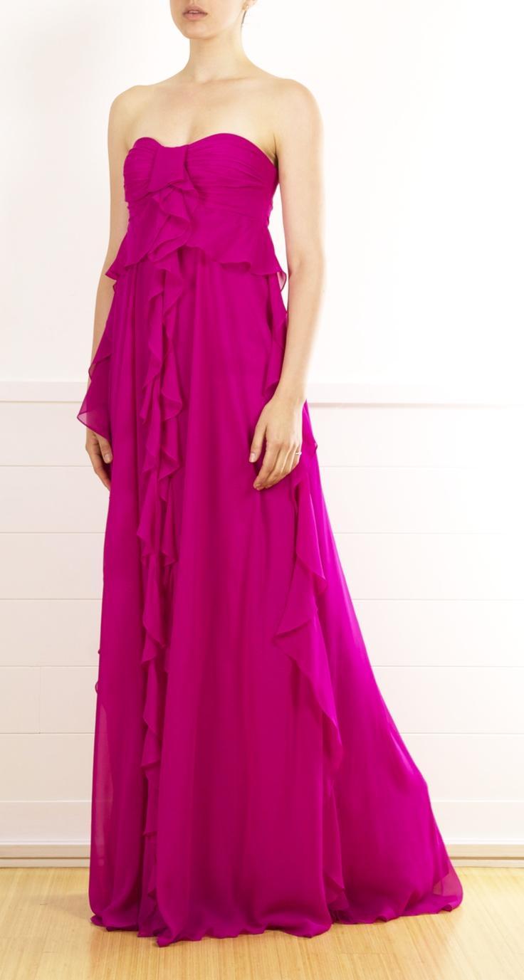 زفاف - الوردي الساخن / Fuscia الزفاف لوحة