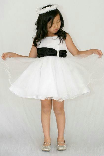 Mariage - Organza A Line Short Cute Affordable Customized Girls Pageant Dress