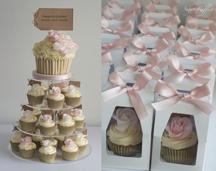 Beautiful Cupcake Towers For Weddings Pictures - Styles & Ideas ...