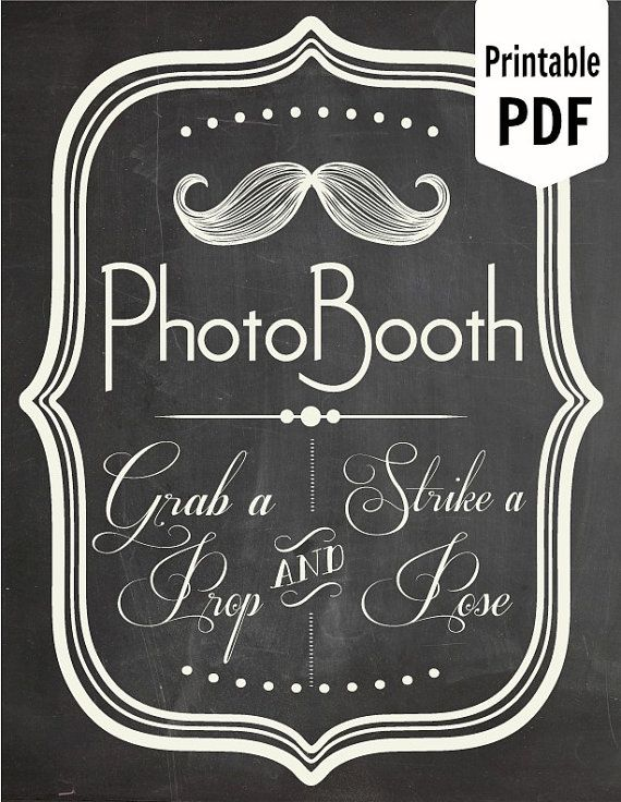 Vintage Wedding Photo Booth Ideas