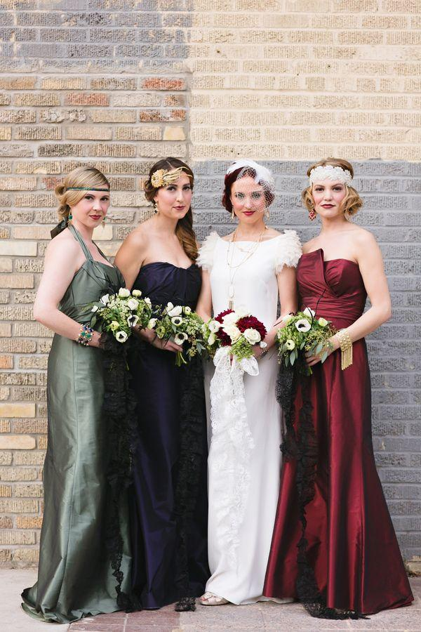 Great gatsby wedding 1920 39 s inspired wedding 2118676 for Roaring 20s wedding dress