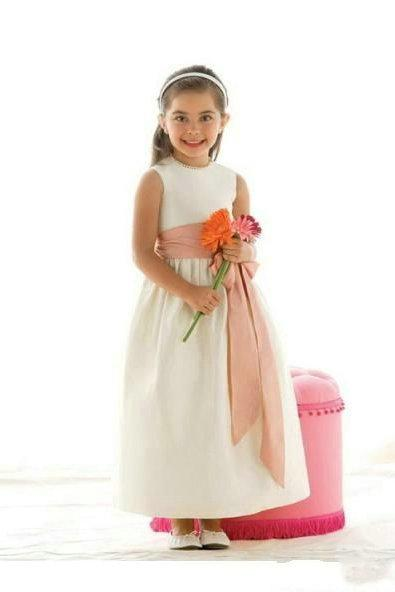 Wedding - Common Satin Sash Customzied Perfect Inexpensive Girls Formal Dresses
