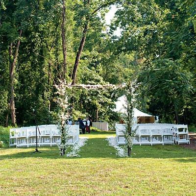 Свадьба - Свадьбы-На Открытом Воздухе, Сад