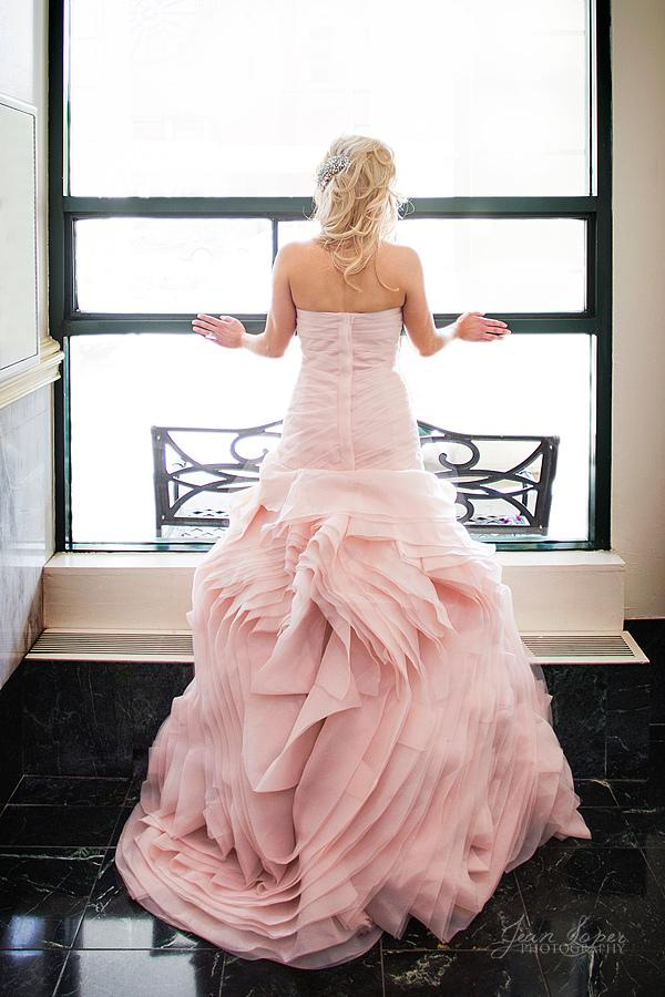 Wedding - Pink Wedding Dress