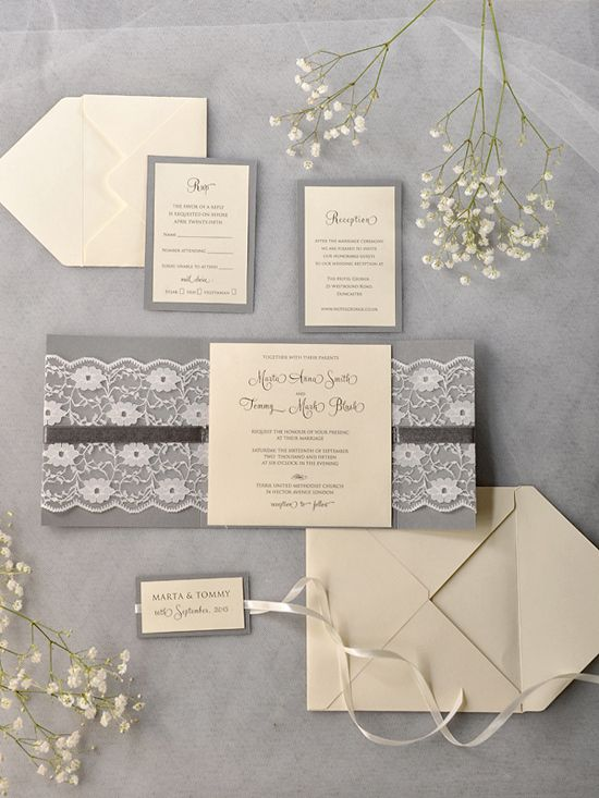 Wedding - Paper, Invitations, Save-the-Dates, Menu Cards Etc!