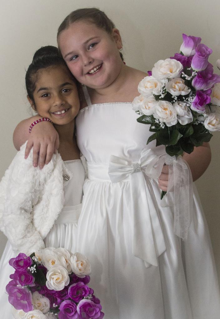 Wedding - Flower Girls Pre Ceremony