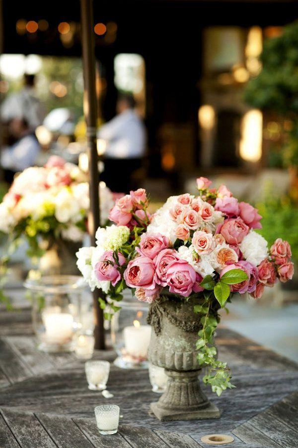 Hochzeit - Garten Tischinszenierungen