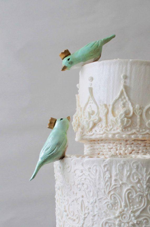 Свадьба - Белый И Золотой Свадебные Торты