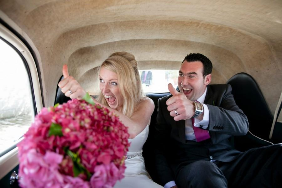 Mariage - Thumbs up!