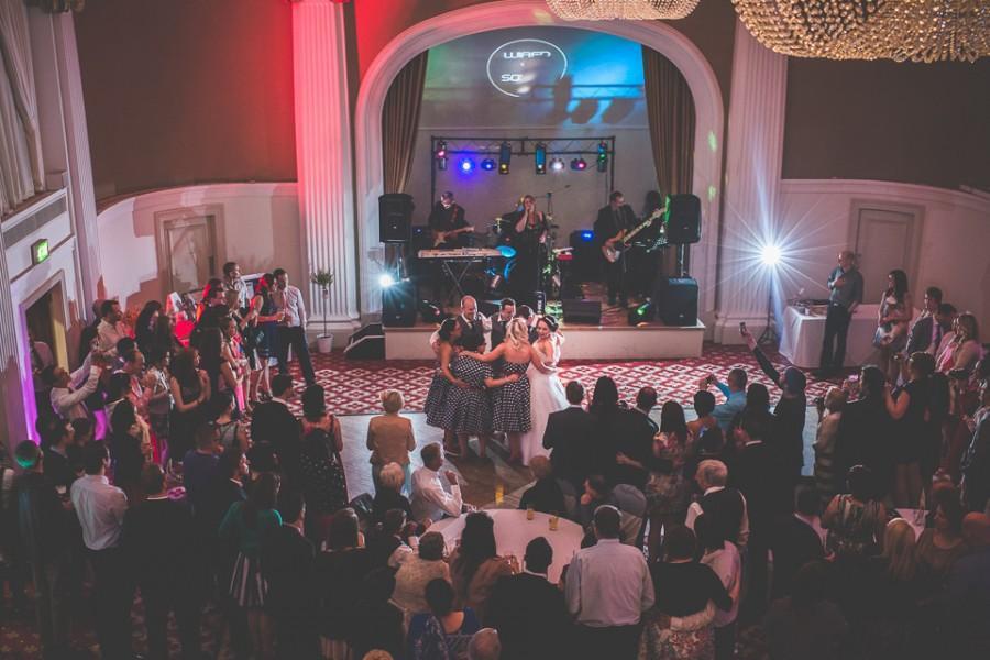 Wedding - The Reception Party. Wedding Photographer Bristol