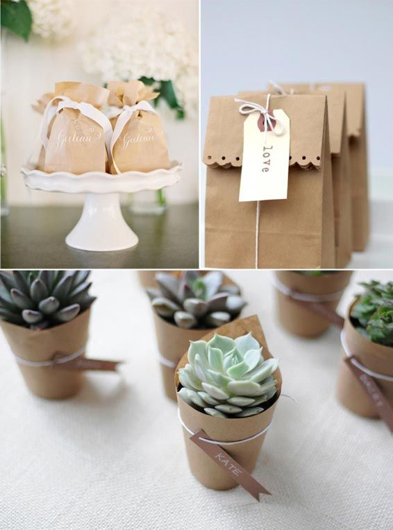 Wedding - Ideas For A Beautiful Brown Paper Wedding