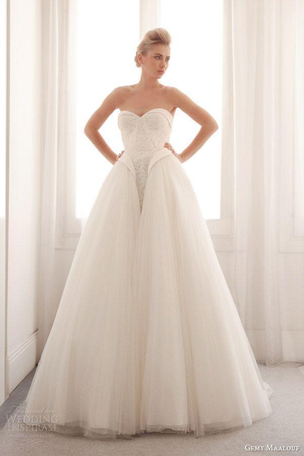 زفاف - حمالة فستان الزفاف الإلهام