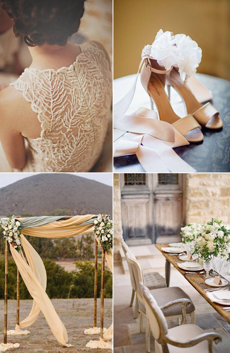 Свадьба - Бежевый Красавиц: Классические И Элегантные Свадебные Идеи