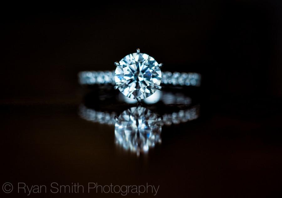 Wedding - Engagement Ring Macro