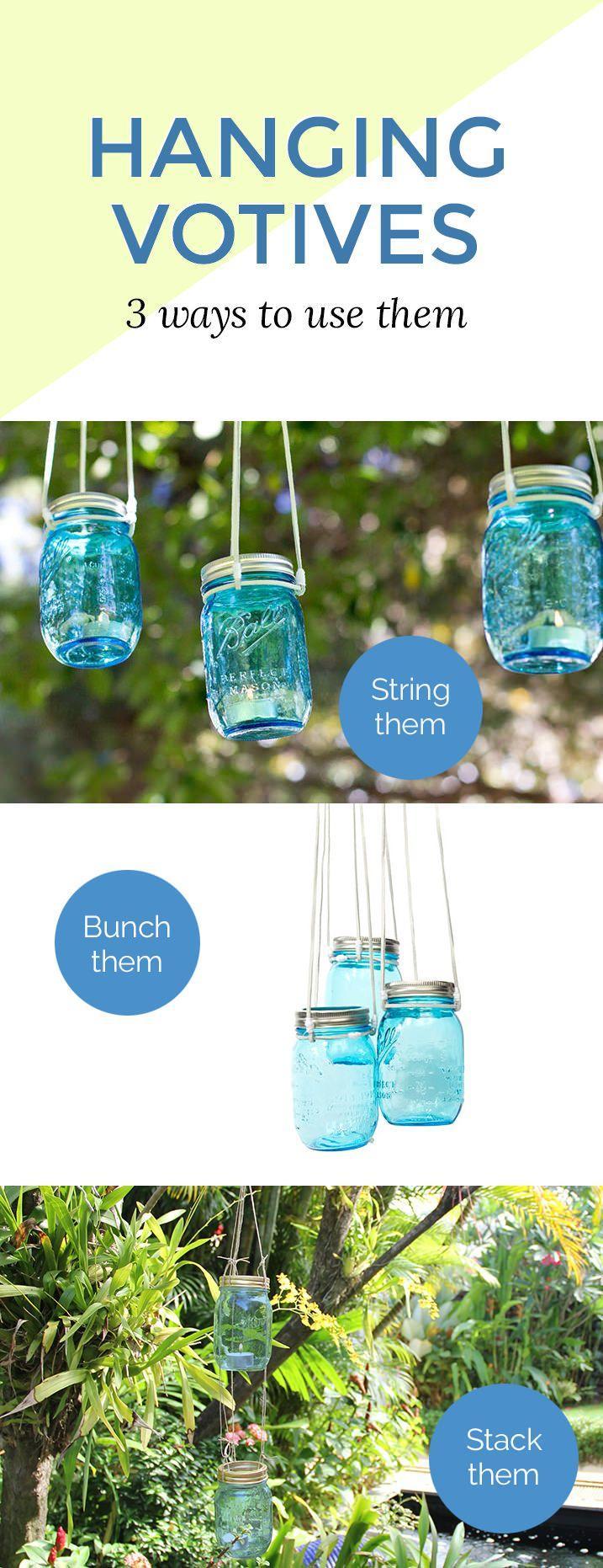 Wedding - This Mason Jar Light Craft Will Light Up Your Backyard