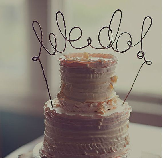 Wedding - Rustic WE DO Cake Topper Banner - Rustic Wedding Cake Topper, Rustic Wedding, Shabby Chic Wedding, Barn Wedding, Garden Party