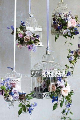 Birdcage-Hochzeits-Dekoration Idee (BridesMagazine.co.uk) #2125098 ...