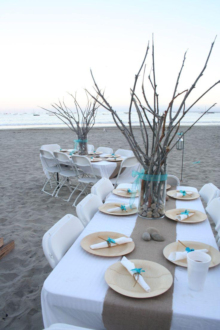 Summer Wedding Beach Themed Wedding Ideas 2125124 Weddbook